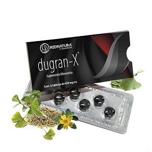 dugran-X 6 CAPSULAS PARA HOMBRES RED NATURA