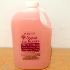 agua de rosas con colageno y ozono 1 litro