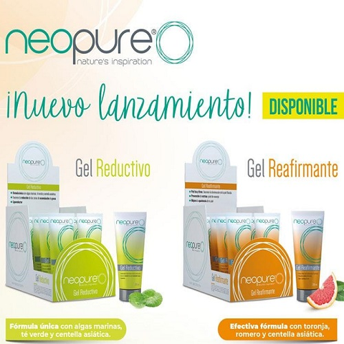 gel reductivo y gel reafirmante neopure de ifa natural 100%
